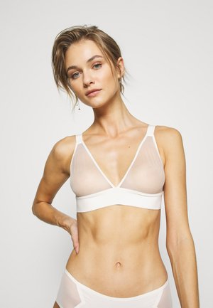 PURE - Triangle bra - ecru