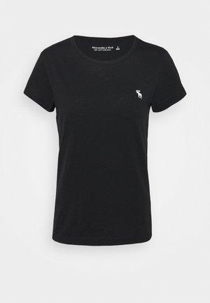 ICON CREW TEE - T-shirt basique - black