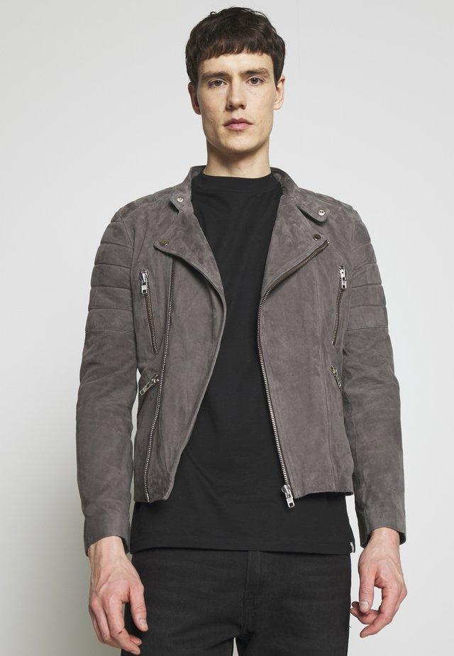 GLADATOR - Kožená bunda - grey