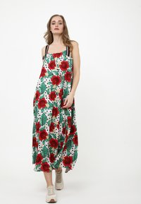 Madam-T - Maxi dress - rosa, rot - 0