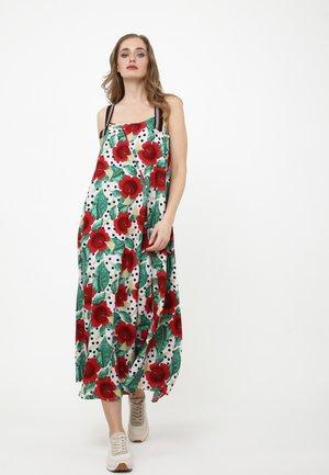 Maxi dress - rosa, rot