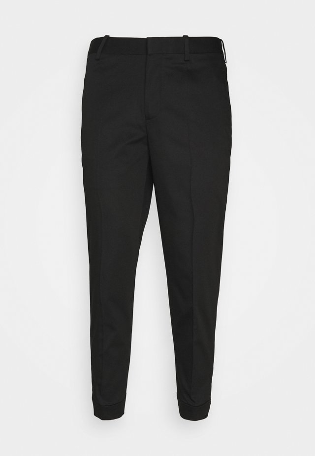 TRAVEL REGULAR RISE TROUSERS - Pantalon classique - black