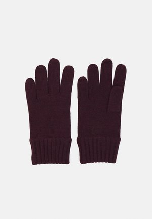 APPAREL ACCESSORIES GLOVE UNISEX - Gloves - vintage port heather