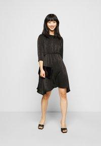 Vero Moda Petite - VMJENICE SHORT DRESS - Day dress - black - 1