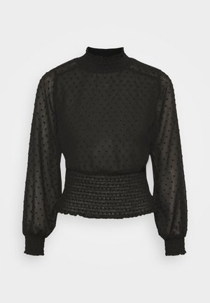 OBJGRETA - Long sleeved top - black