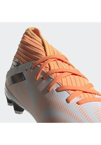 adidas Performance - NEMEZIZ .3 MONOGRAM MULTI GROUND - Moulded stud football boots - ftwwht/cblack/scrora - 8