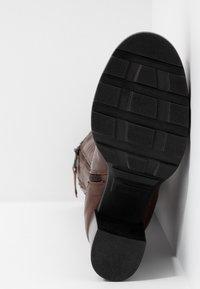 MJUS - Stivali con i tacchi - brandy - 6