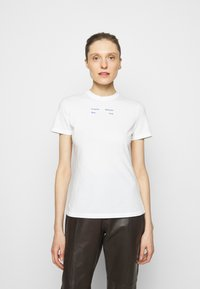Proenza Schouler White Label - SOLID STRETCH - Printtipaita - off white - 0