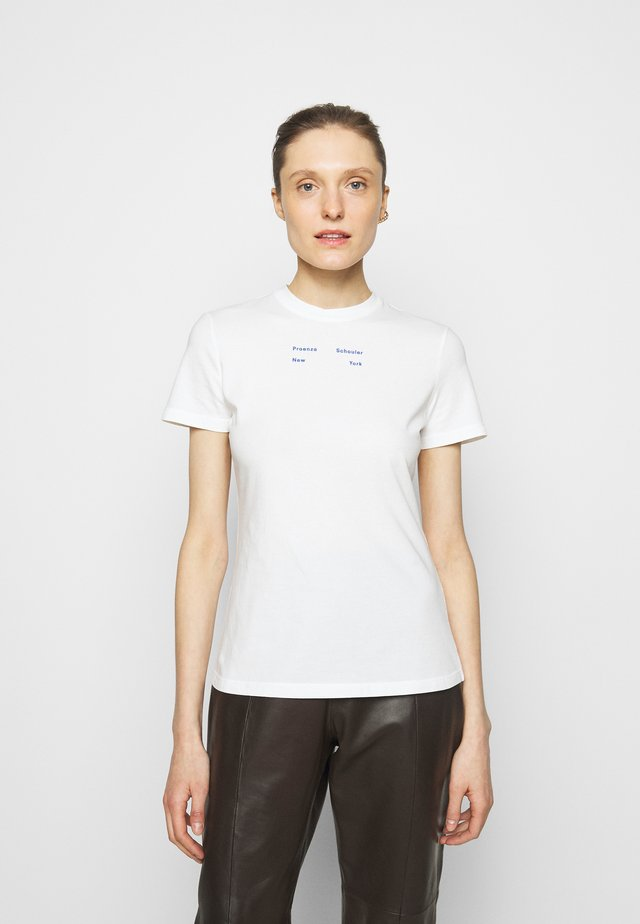 SOLID STRETCH - T-Shirt print - off white