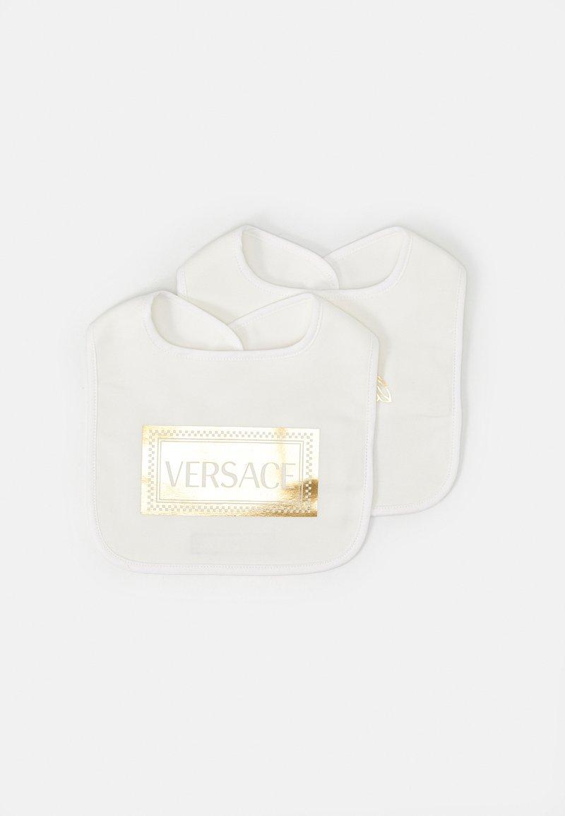 Versace - MEDUSA LOGO SHOW 2 PACK - Bryndák - white/gold