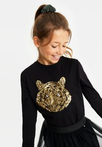 WE Fashion - Long sleeved top - black - 1