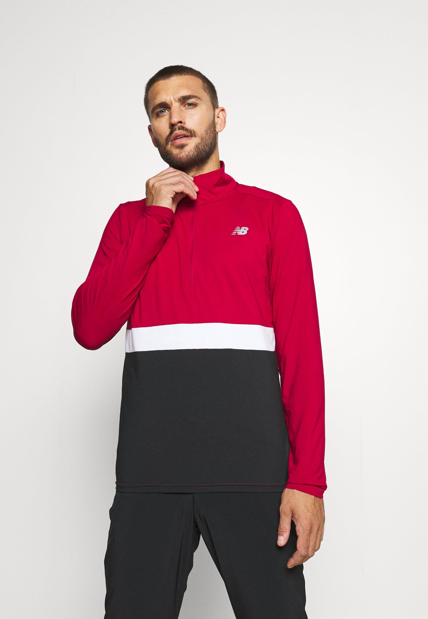 Men ACCELERATE HALF ZIP - Sports shirt