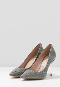Kurt Geiger London - BRITTON - High heels - grey/light - 4