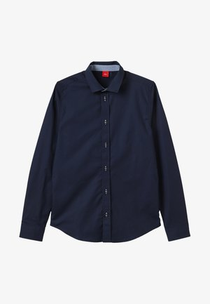 LANGARM SLIM FIT - Camisa - dark blue