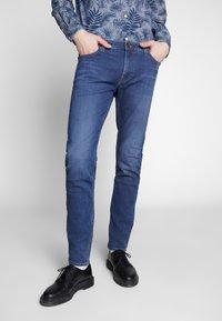 Lee - MALONE - Jeans slim fit - dark ely - 0