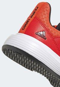 adidas Performance - COURTJAM - Clay court tennis shoes - orange - 5