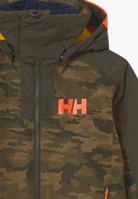 Helly Hansen - FLY HIGH SKI UNISEX - Lyžařská kombinéza - olive - 3
