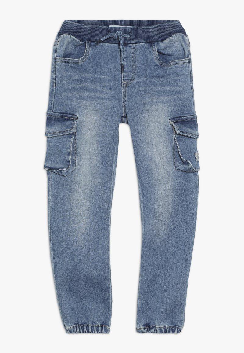 Name it - NMMBOB  - Pantalones cargo - light blue denim