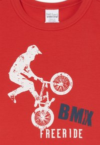Fred's World by GREEN COTTON - BMX FREE RIDE - Print T-shirt - traffic red - 3