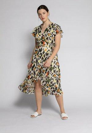 Korte jurk - sandbeige
