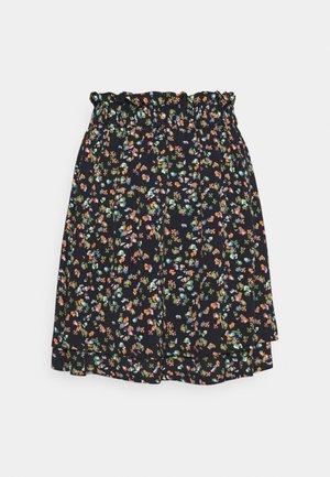 NUDACEY SKIRT - Mini skirt - dark sapphire