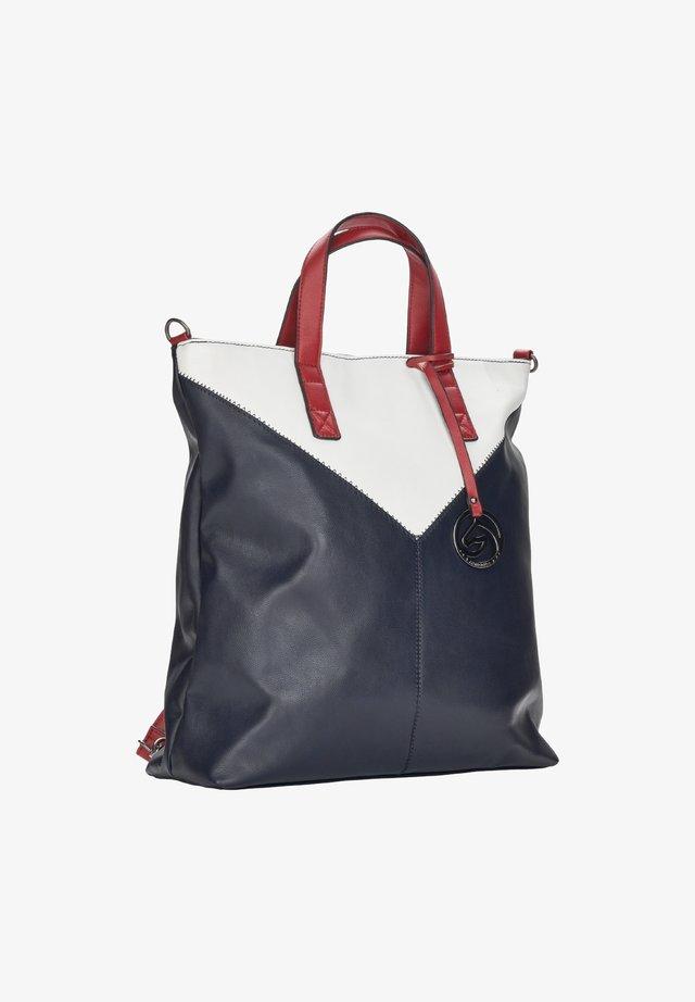 Tote bag - pacific-white-rosso