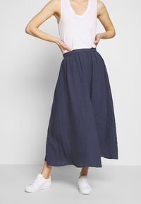 Marc O'Polo - SKIRT COLD DYE - Jupe trapèze - blue - 0