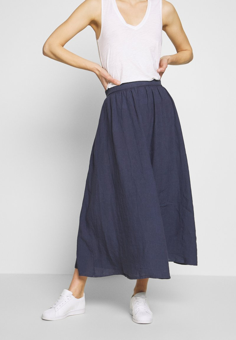 Marc O'Polo - SKIRT COLD DYE - Jupe trapèze - blue