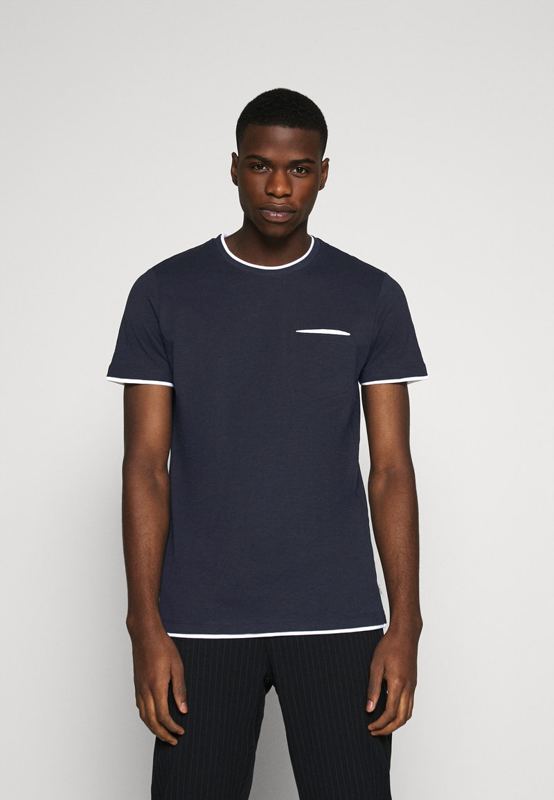 Esprit - Basic T-shirt - navy