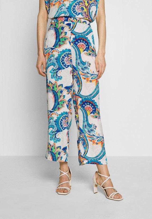 Spodnie materiałowe - multicolour