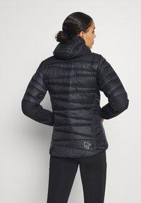Norrøna - FALKETIND HOOD - Down jacket - black - 2
