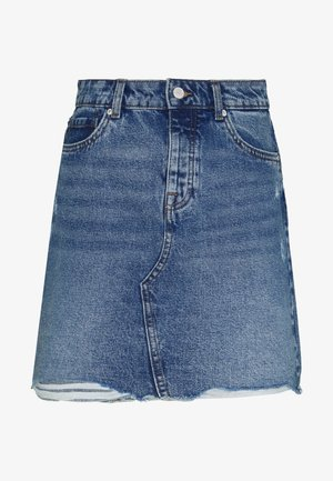 ONLSKY SKIRT  - Spódnica jeansowa - light-blue denim