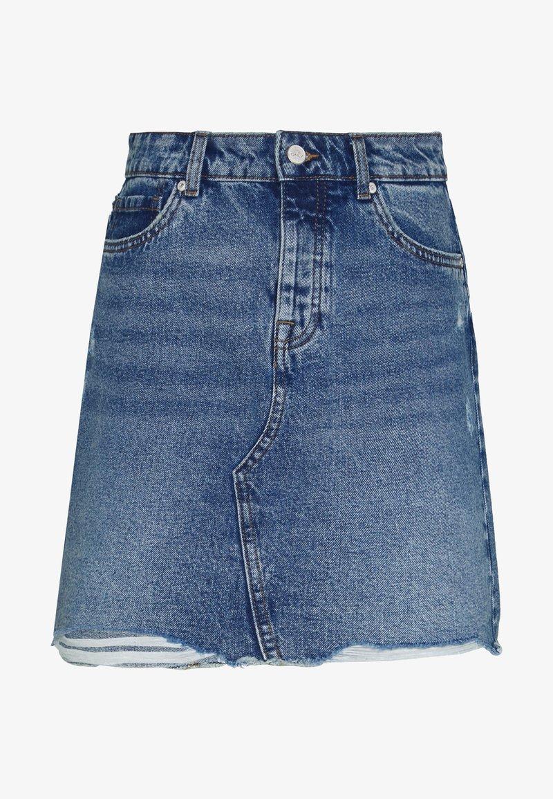 ONLY Tall - ONLSKY SKIRT  - Denimová sukně - light-blue denim