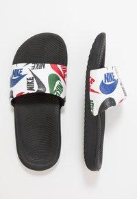 Nike Performance - KAWA SLIDE  - Sandály do bazénu - black/white - 1