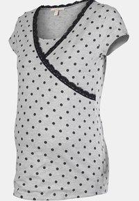 Esprit Maternity - MIT PRINT - Nattøj trøjer - light grey melange - 6