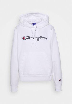 HOODED ROCHESTER - Bluza z kapturem - white