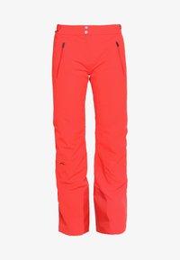Kjus - WOMEN FORMULA PANTS - Snow pants - fiery red - 4