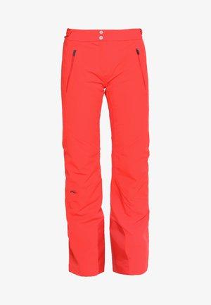 WOMEN FORMULA PANTS - Spodnie narciarskie - fiery red