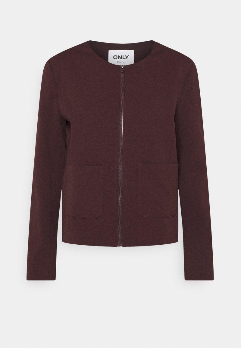 ONLY - ONLJEN CAROLINA ZIP POCKET - Summer jacket - fudge