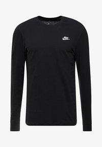CLUB TEE  - Long sleeved top - black