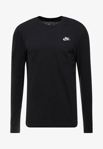 CLUB TEE  - Långärmad tröja - black