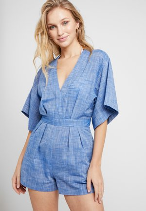 SAFARI PLAYSUIT - Beach accessory - light blue