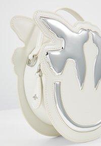 Pinko - LUCKY - Across body bag - white - 2