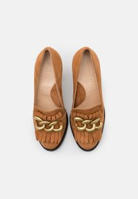 Selected Femme - SLFMEL - Escarpins à talons hauts - sudan brown - 5