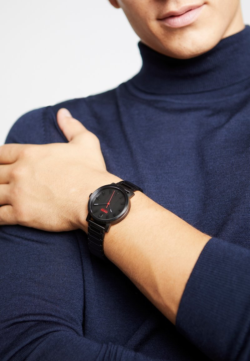 HUGO - RASE - Watch - black