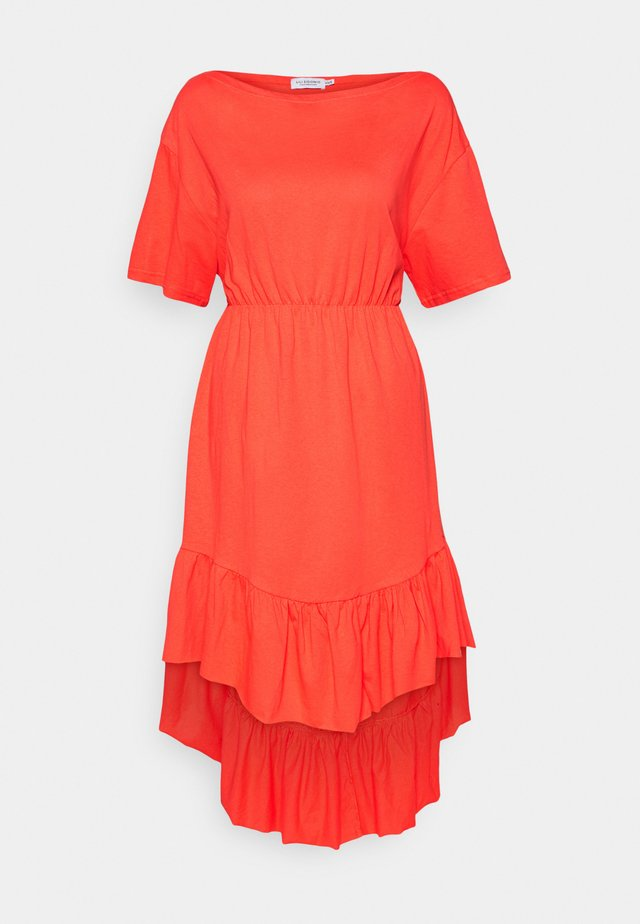 YOUNG LADIES DRESS - Vapaa-ajan mekko - red orange