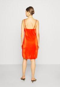 Even&Odd - Korte jurk - orange - 2