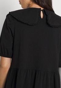 ONLY - ONLLIVE LOVE COLLAR DRESS - Vapaa-ajan mekko - black - 5