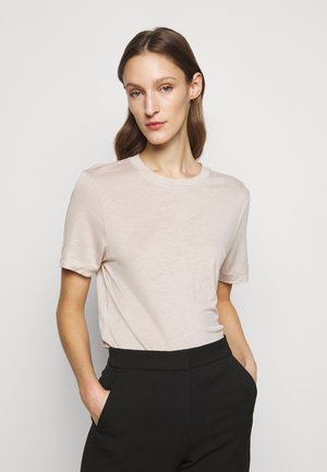 CLAUDIA - Basic T-shirt - light grey