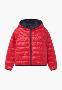 BOSS Kidswear - REVERSIBLE PUFFER - Down jacket - red/blue navy - 2